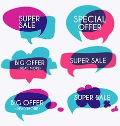 Set of sale banners design sale paper banner sale vector