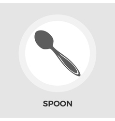 Spoon flat icon vector