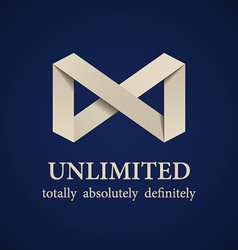 Abstract paper unlimited symbol vector
