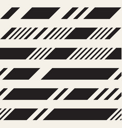 Black and white dashed lines pattern modern vector