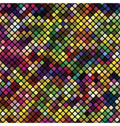 Colored squares abstract background vector image vector image