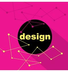 Design concept creative background vector