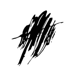 Grunge ink pen stroke vector