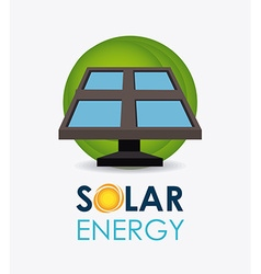 Solar energy design vector