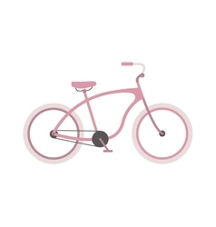 Girl bike vector