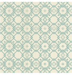 Square retro pattern vector image