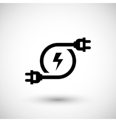 Electricity icon symbol vector