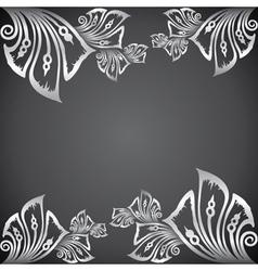 Classic design border background vector