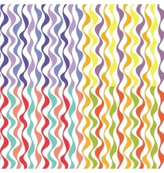Set of Seamless Simple Wave Patterns vector image