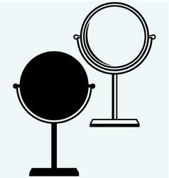 Makeup mirror vector