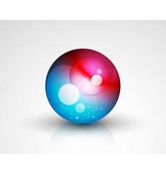Marble icon vector