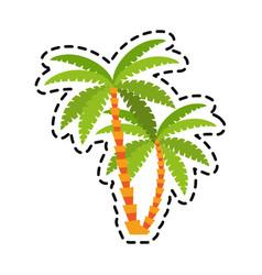 Tree icon image vector
