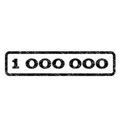 1 000 000 watermark stamp vector image vector image
