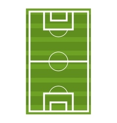 soccer court graphic vector image