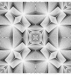 Design seamless decorative trellised pattern vector