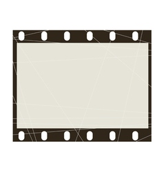 frame of film vector image