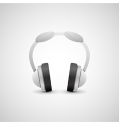 Headphones Graphic Concept vector image