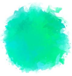 Watercolor Splotch vector image