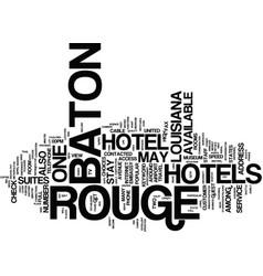 Baton rouge jobs text background word cloud vector