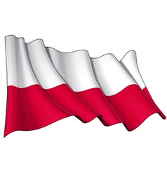 Poland national flag vector