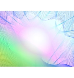 Abstract colorful rosette background vector image