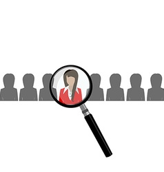 Search choose for employment vector