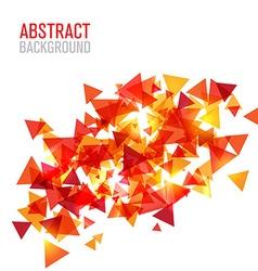 Abstract modern poligonal background for brochure vector