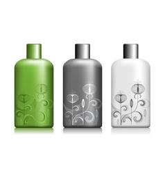 bottle package vector image