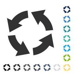 Circulation icon vector