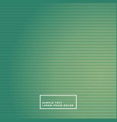 Clean green stripes background vector