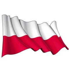 Poland national flag vector