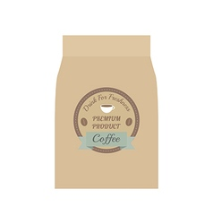 106coffee bag vector
