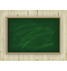 School board on wooden background vector