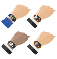 Smart Watches vector image