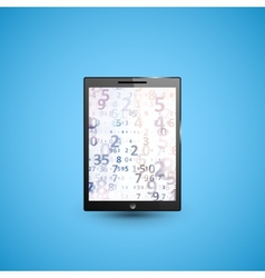 Tablet pc computer vector