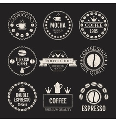 Set of logos vector