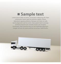cargo traffic vector image
