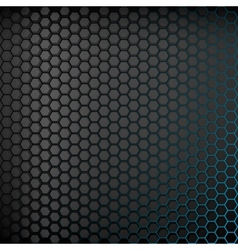 Dark background with blue backlight vector image vector image