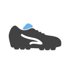 Football shoes vector
