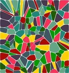 Mosic tile background vector