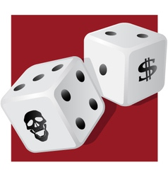 Dangerous dice vector