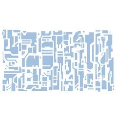 Hi-tech pattern vector image