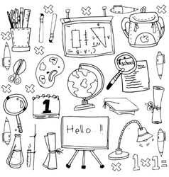 Stock education doodles vector
