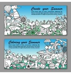 Create your summer fliers vector