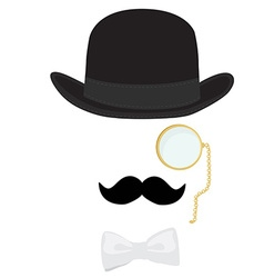 Gentleman vector image