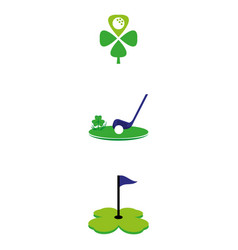 golf2 vector image vector image