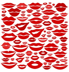 Lip a background vector image