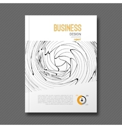 Business design background cover magazine info vector