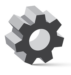 Cog - Gear vector image
