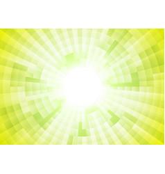 Light green tech geometric background vector